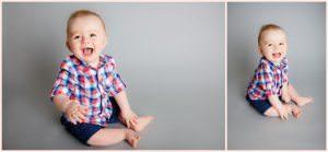 Children's studio portraits