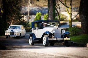 cars arriving at miskin manor