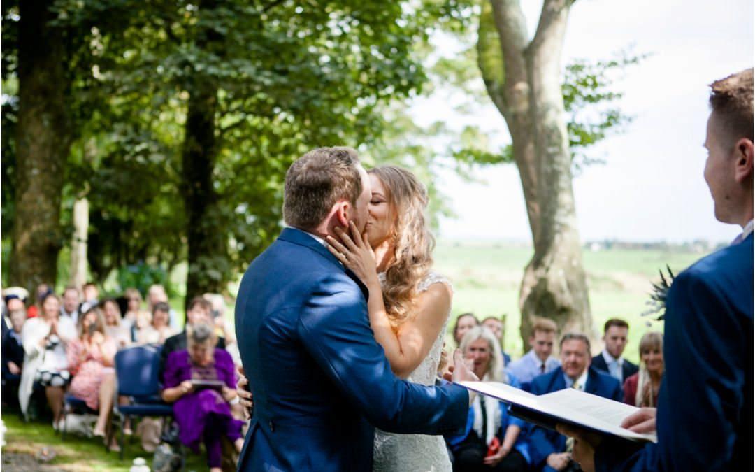 ADAM & GEORGIA'S RURAL CRUG GLAS WEDDING