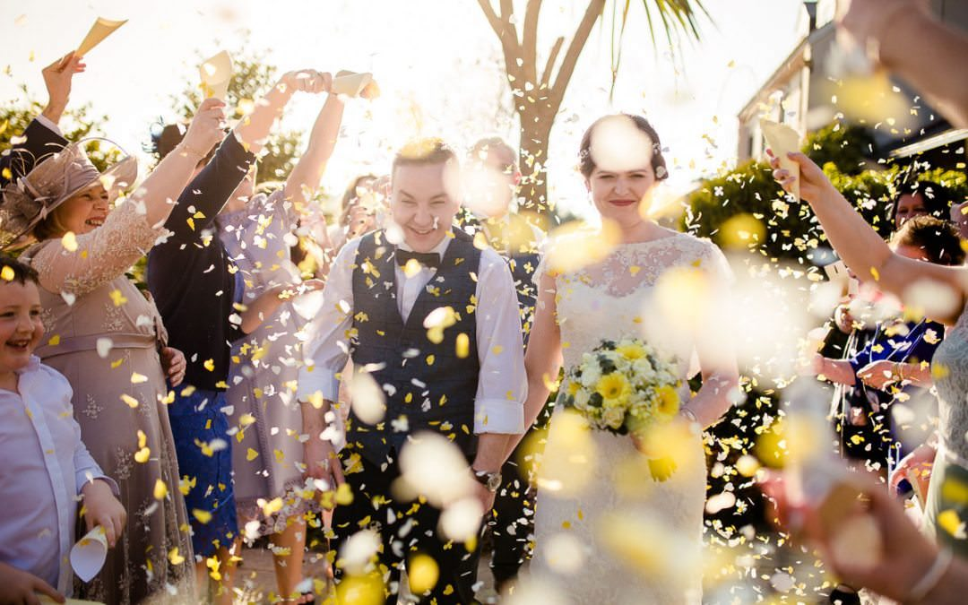 Sunny Wedding Confetti