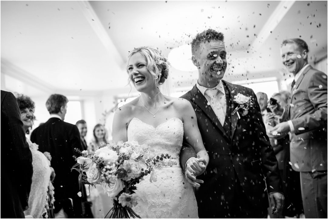 Ross & Claire's epic wedding at The Cliff Hotel & Spa